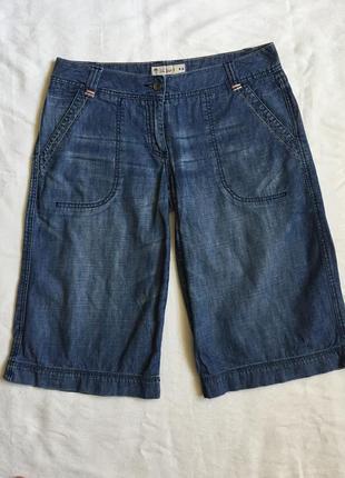 Супер бриджи шорты жен джинсовые l (48)