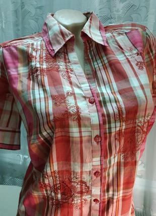 70a70b630d46268 Женские рубашки с вышивкой 2019 - купить недорого вещи в интернет ...