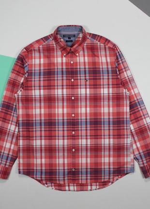 Сочная оригинальная рубашка от tommy hilfiger