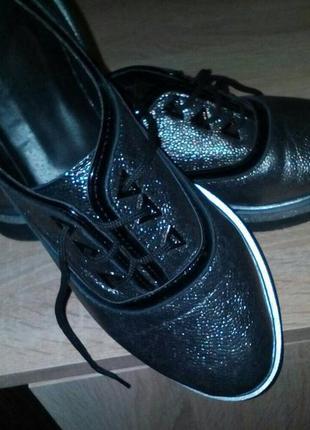 Блестящие ботиночки