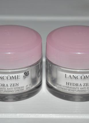 Крем увлажняющий для лица lancome hydra zen anti-stress moisturising cream spf15 мини