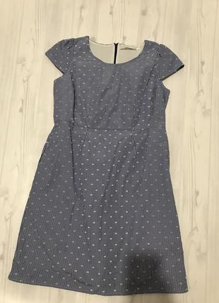 Платье с интересной ткани