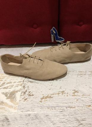 Туфлі-мокасіни із натуральної замші minelli