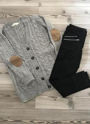 Кардиган и брюки zara