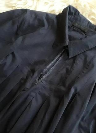 Стильная удлиненая блуза, туника bruuns bazaar2 фото