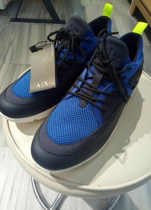 Мужские кроссовки armani1 фото