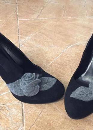 Натуральные туфли италия