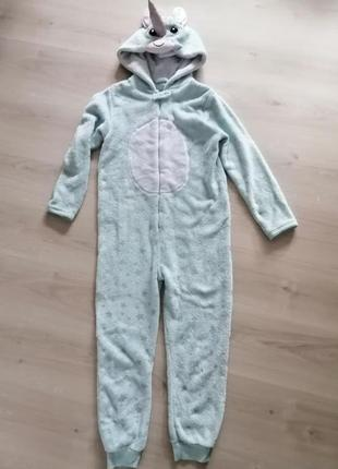 Кигуруми человечек слип пижама yd