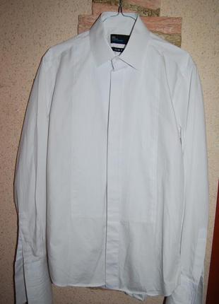 Потрясающая белая рубашка на торжество