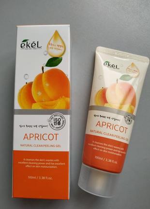 Пилинг-скатка с фруктовыми кислотами ekel apricot