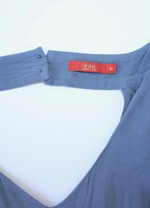 Шикарный белый комбинезон юбка, джинсовый суперский6 фото