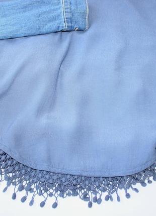Шикарный белый комбинезон юбка, джинсовый суперский5 фото