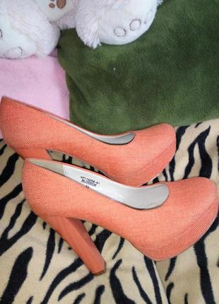 Летние туфельки « оранжевое настроение»