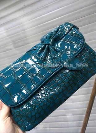 bed061a03a36 Бирюзовые сумки, женские 2019 - купить недорого вещи в интернет ...