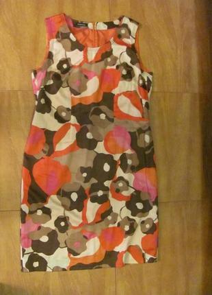 Шикарное платье лето цветы