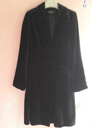 Длинный пиджак 44-46 ( велюр)