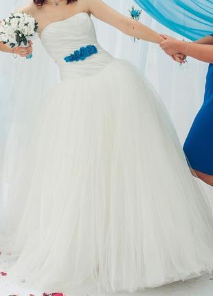 Свадебное платье white by vera wang (вера вонг). оригинал!!!