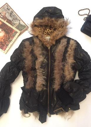 Куртка с мехом maxmara