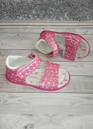 Детские босоножки бренда ввт для девочек