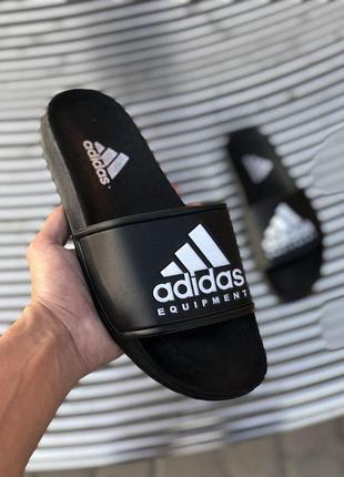 Шикарные мужские сланцы на лето adidas equipment 😍 (шлёпки/ тапки/ шлёпанцы/ тапочки)