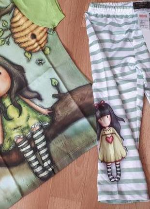 Модный яркий комплект футболочка и капри венгрия