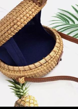 Плетёная сумка2 фото