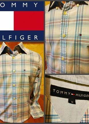 Рубашка от tommy hilfiger, оригинал р.м