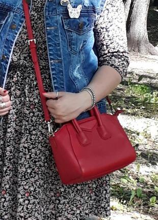 Красная сумочка