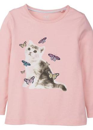 Дитяча котонова футболка кофта lupilu