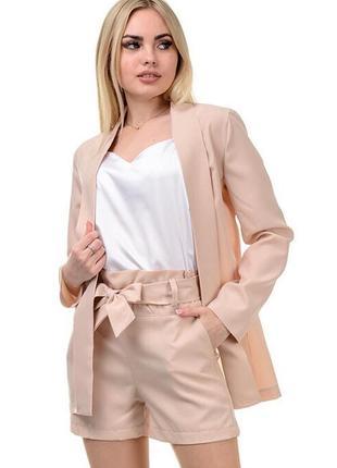 Женский костюм (пиджак + шорты)