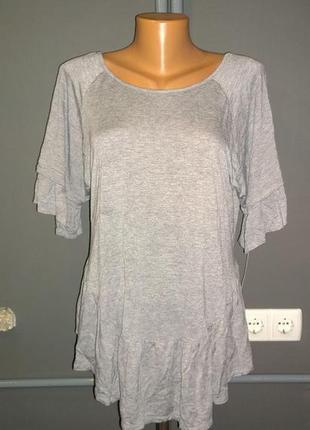 Блуза кофточка с оборками большого размера george4 фото