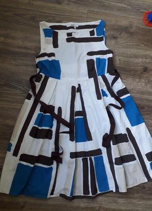 Крутое летнее платье zara basic
