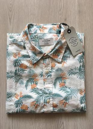 Jack&jones літня сорочка з коротким рукавом