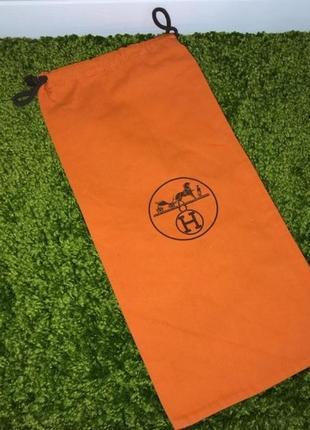 Брендовый пыльник для хранения сумок бренда hermes