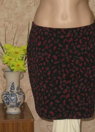 Красивая трикотажная юбка
