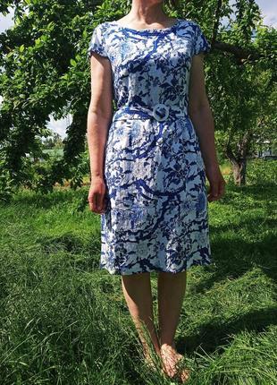 Платье из льна. сукня із льну