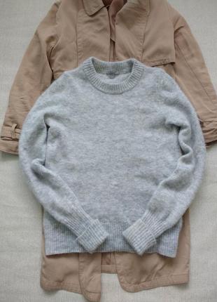Базовый теплый шерстяной свитер cos