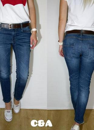 Крутые немецкие джинсы с push up c&a
