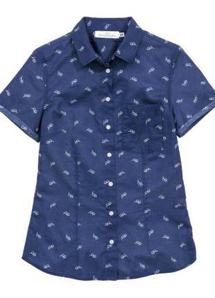 Нова рубашка h&m р. 38