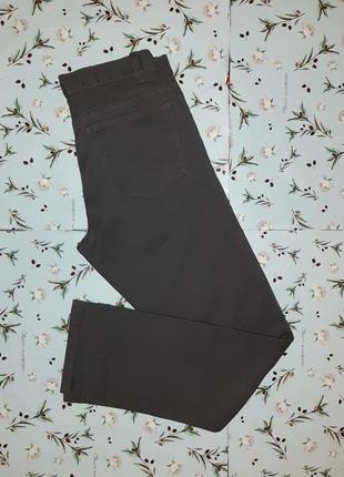 Акция 1+1=3 шикарные фирменные темно-серые узкие джинсы denim co, размер 42 - 44