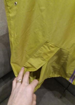 Бомбезная  ветровки дождевик с логотипом7 фото