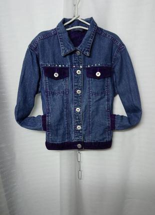 Лёгкая джинсовая  брендовая курточка 🌷