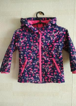 Курточка softshell f&f, ветровка, вітрівка,