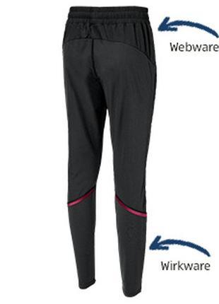 Женские легкие спортивные брюки crane германия, р. s 36 евро - 42 наш