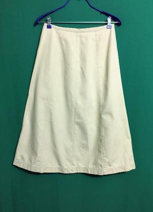 Длинная джинсовая юбка petite