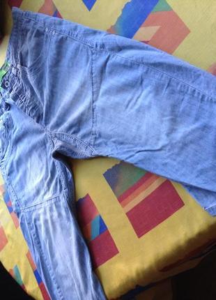 Шорты джинсовые удлиненные, ниже колена, голубые. gio goi shorts