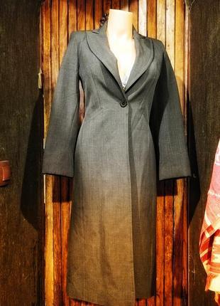 Трендовый длинный пиджак жакет topshop удлинённый