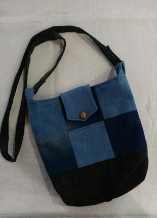76d2e96e3e67 Джинсовые сумки, сумки из джинсов женские 2019 - купить недорого ...