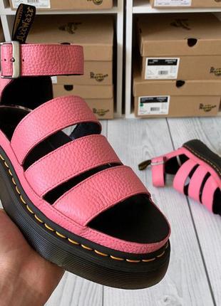 Босоножки от dr.martens clarissa ii platform pink aunt sally