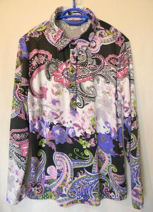 Laura kent -блузка с длинным рукавом р.l-xl